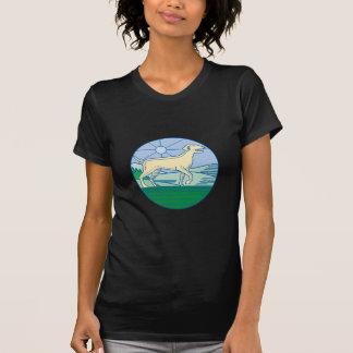 English Pointer Dog Mono Line T-Shirt