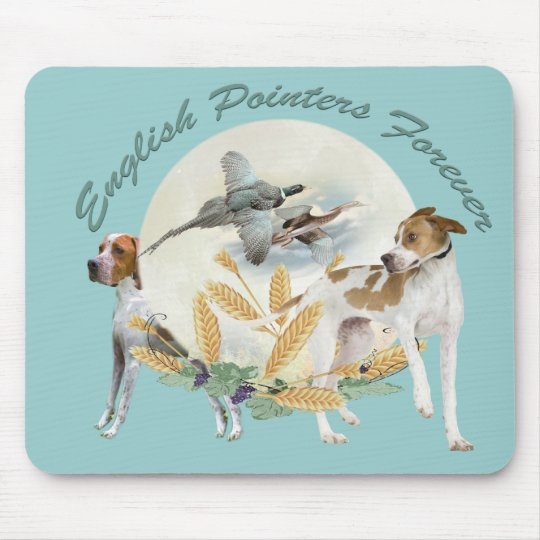 English Pointer Forever Mouse Pad