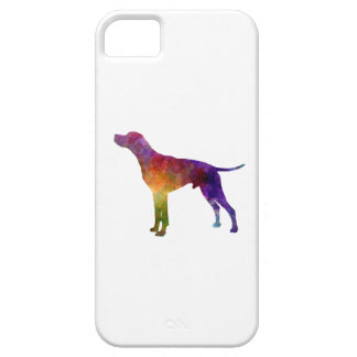 English Pointer in watercolor iPhone 5 Covers