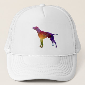 English Pointer in watercolor Trucker Hat