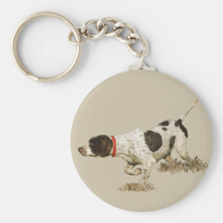 English Pointer Keychain