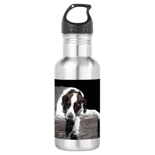 "English Pointer Water Bottle - ""Sophie"""