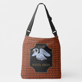 English Pub Sign. Crossbody Bag