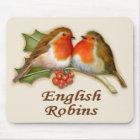 English Robins Mouse Pad