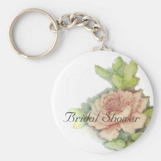English Rose On A Key Chain-Customize Keychain