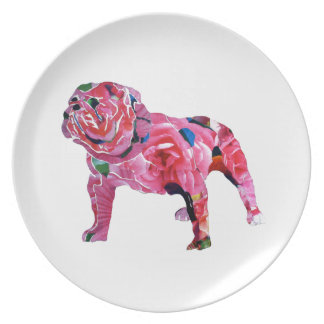 English Rose Plate