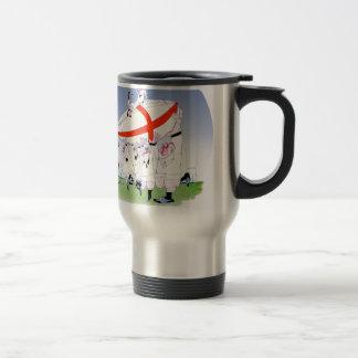 english rugby cheers, tony fernandes travel mug