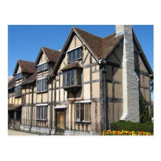 English Scenes, Shakespeare's Birthplace Postcard