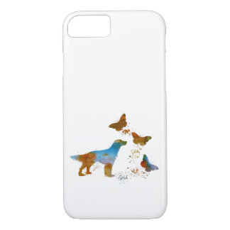 English Setter And Butterflies iPhone 8/7 Case