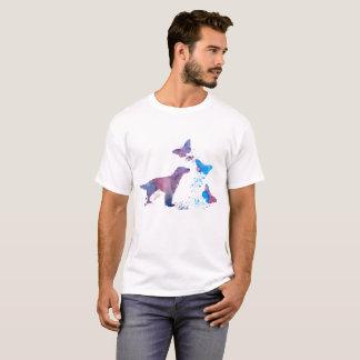 English Setter And Butterflies T-Shirt