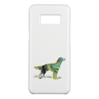 English setter art Case-Mate samsung galaxy s8 case