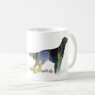English setter art coffee mug