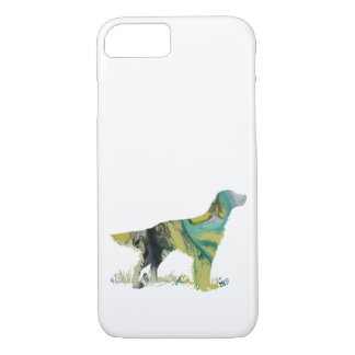 English setter art iPhone 8/7 case