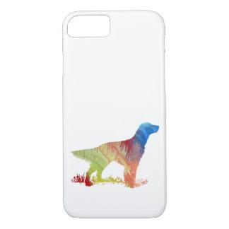English setter art iPhone 8/7 case