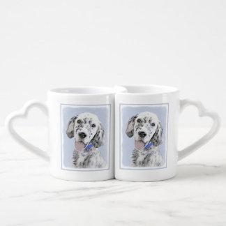 English Setter (Blue Belton) Coffee Mug Set