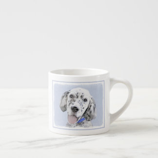 English Setter (Blue Belton) Espresso Cup