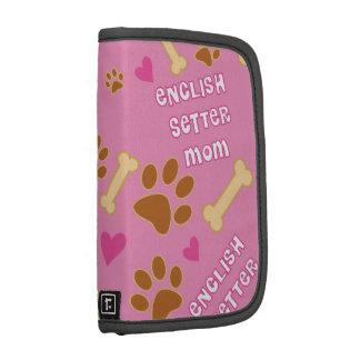 English Setter Dog Breed Mom Gift Idea Organizers