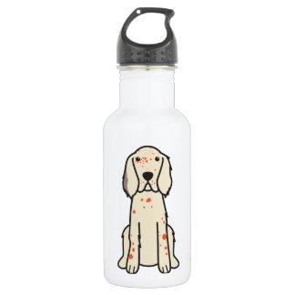 English Setter Dog Cartoon 532 Ml Water Bottle