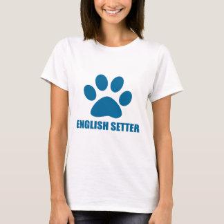 ENGLISH SETTER DOG DESIGNS T-Shirt