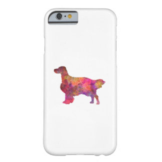 English Setter in watercolor Barely There iPhone 6 Case