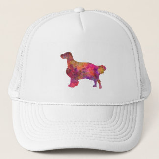 English Setter in watercolor Trucker Hat