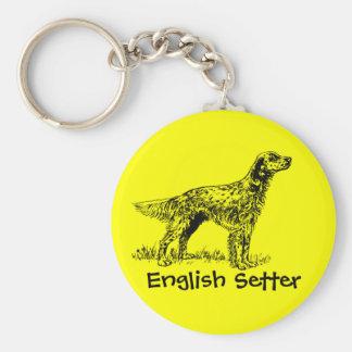 English Setter Keychain
