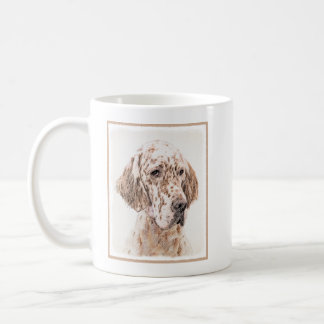 English Setter (Orange Belton) Coffee Mug