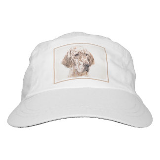 English Setter (Orange Belton) Hat
