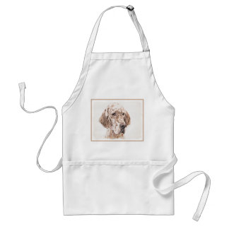 English Setter (Orange Belton) Standard Apron