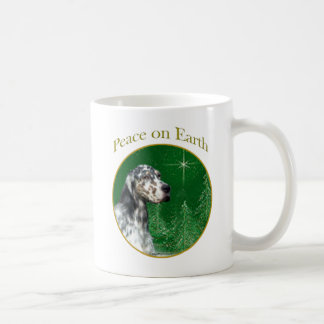 English Setter Peace Coffee Mug