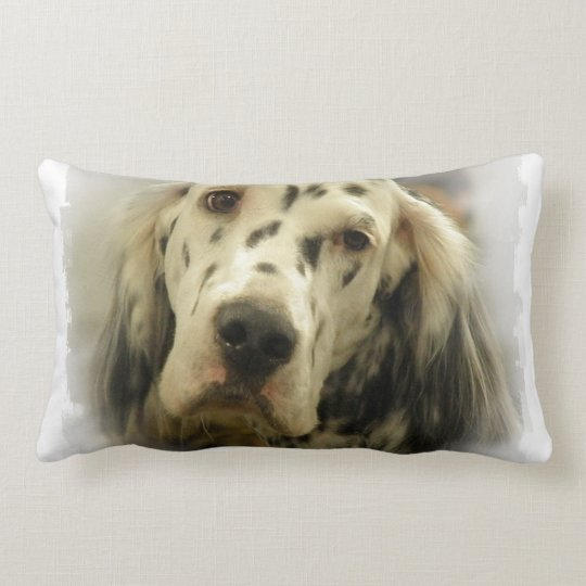 English Setter Pillow