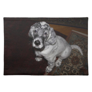 English Setter Puppy Placemats