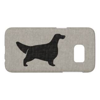 English Setter Silhouette Samsung Galaxy S7 Case