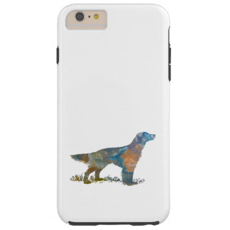 English Setter Tough iPhone 6 Plus Case