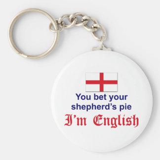 English Shepherd's Pie 2 Keychain