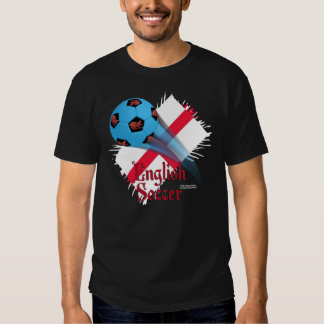 English Soccer Bonanza Men's Colored T-Shirt