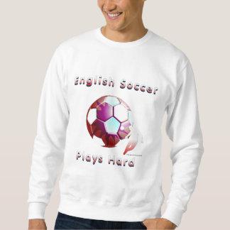 English Soccer Sunball Men's Sweatshirt