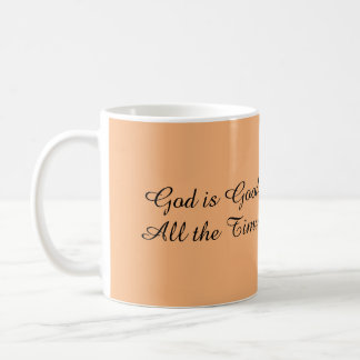 English/Spanish God is Good Coffee Mug