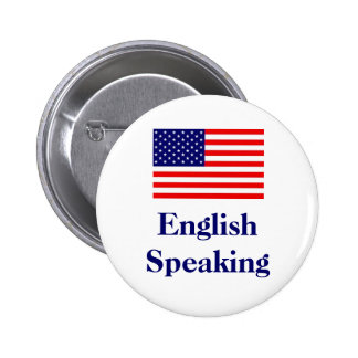 English Speaking 2 Inch Round Button