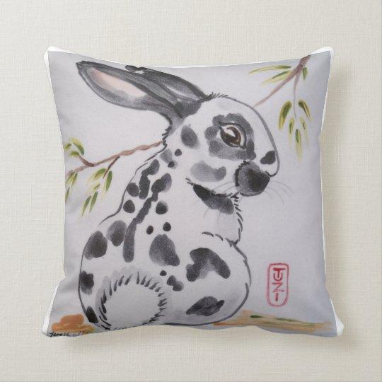 Oriental Design Throw Pillows : English Spot Bunny Rabbit Pillow, Oriental Design Throw Pillow Zazzle.ca