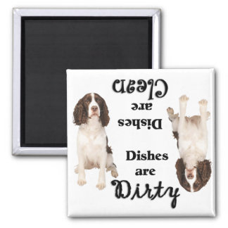 English Springer Lovers Spaniel Dishwasher Magnet