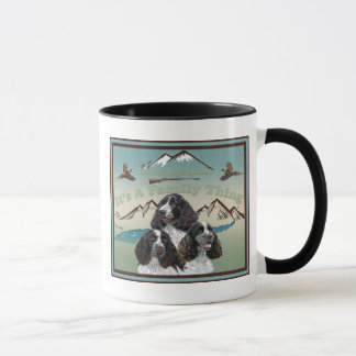English Springer Spaniel All About Family Mug