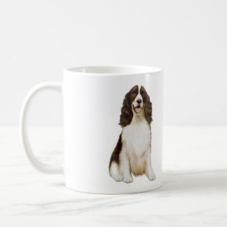English Springer Spaniel (B) - Liver and White Coffee Mug