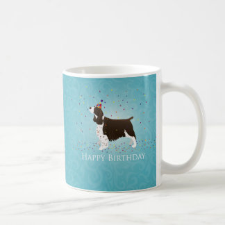English Springer Spaniel Birthday Design Coffee Mug