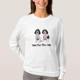 English Springer Spaniel Breast Cancer  Shirt
