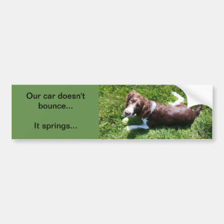 English Springer Spaniel Bumper Sticker