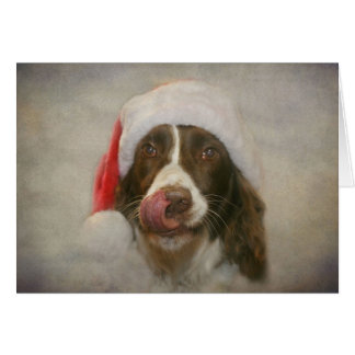 English Springer Spaniel Card