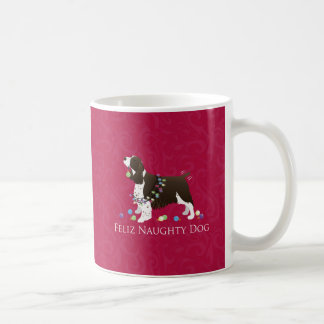 English Springer Spaniel Christmas Design Coffee Mug