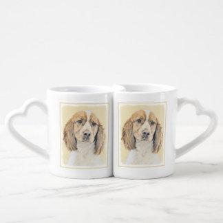 English Springer Spaniel Coffee Mug Set