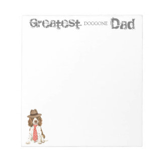 English Springer Spaniel Dad Notepad